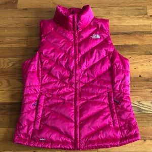 The North Face women's 550 fill goose down vest